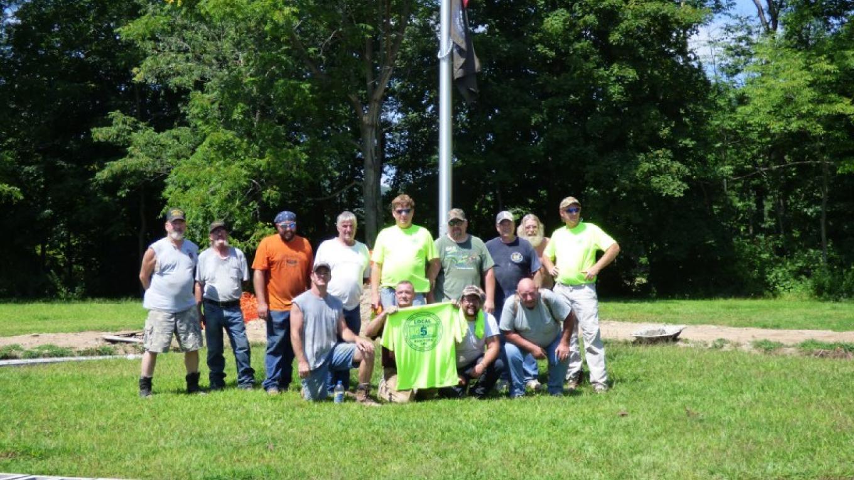 Proud Veteran Volunteers complete 2015 phase – Lynn M. Burns