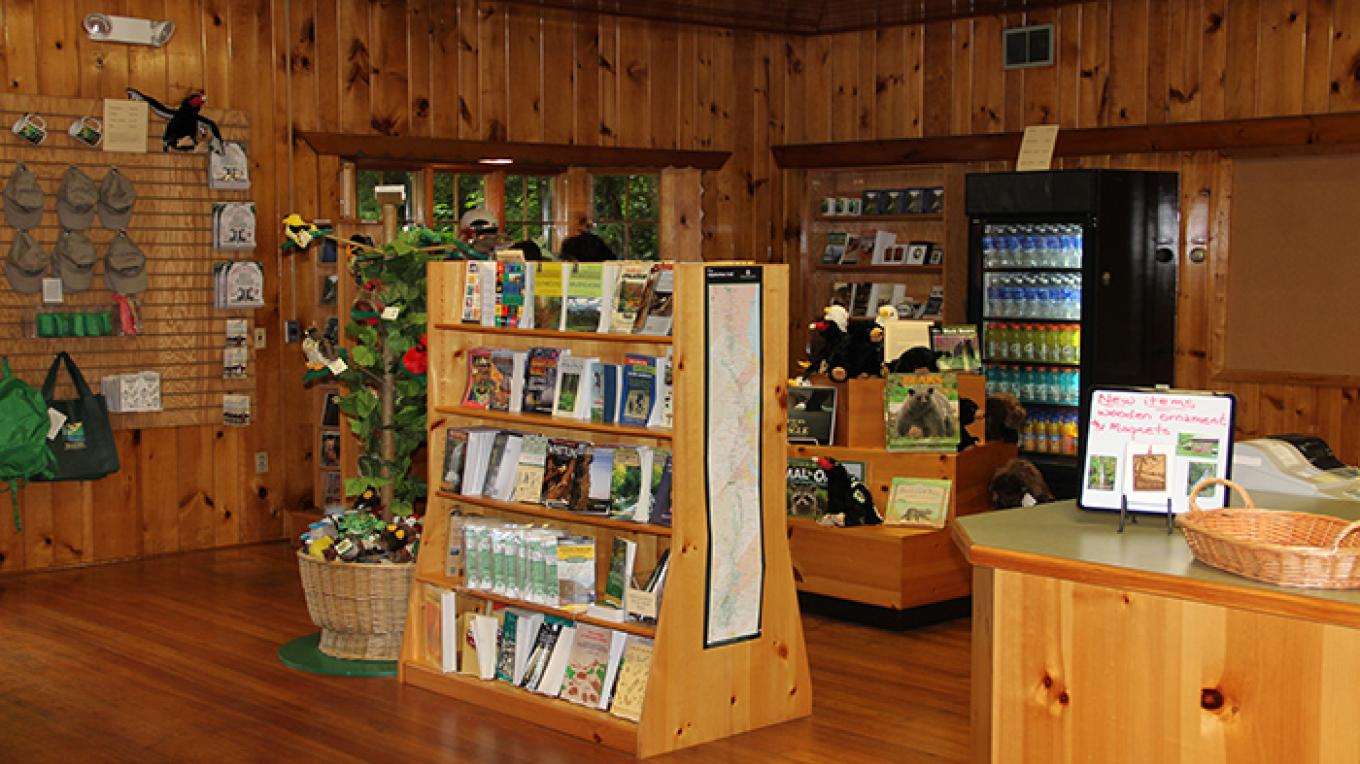 Be sure to pick up some souvenirs for the trip home! – National Park Service