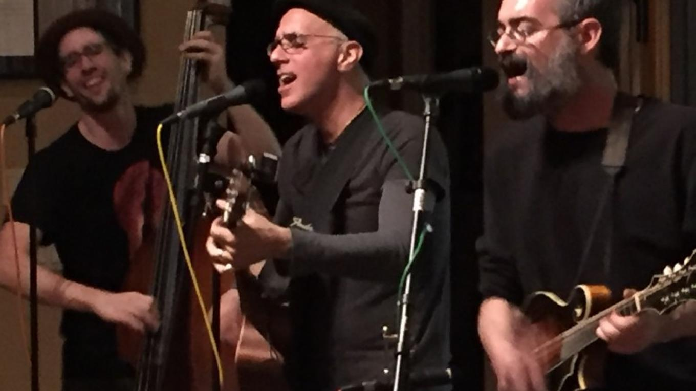 Live Music in the Tasting Room - The Vine Brothers, Gyspy Acoustic shown here – Jerry Cohen
