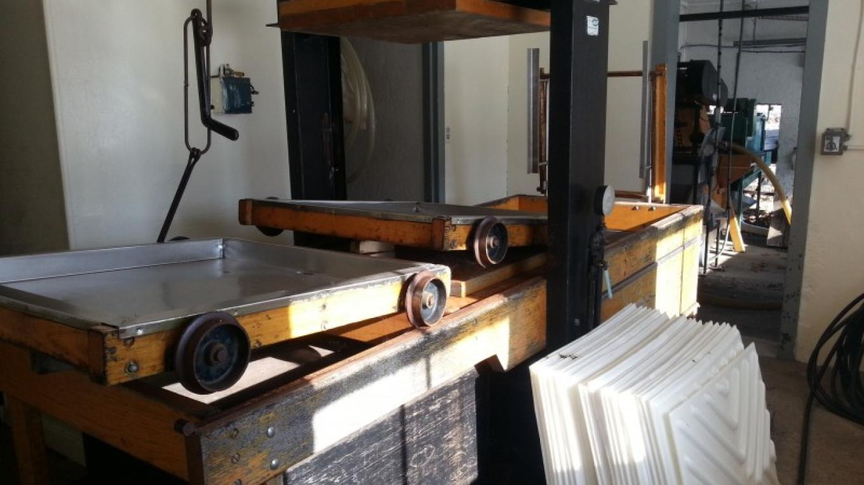 The press room for making fresh apple cider – Hardball Cider