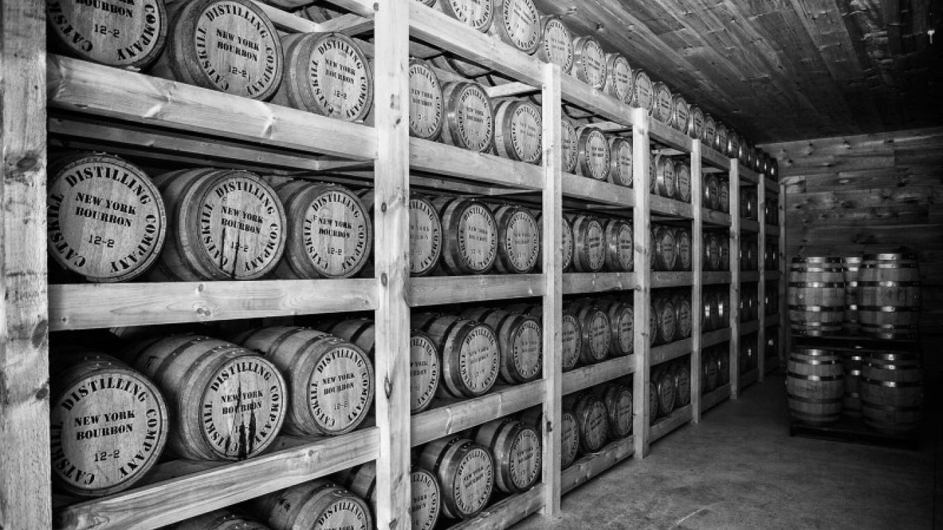 In the Barrel House where our Whiskeys are aged for over two years. – jerry cohen