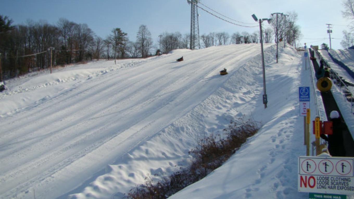White Lightning Snowtubing is open from Dec to April with tubing under the lights. Spend the day exploring the region, return to your villa then head out to snowtube located within walking distance to The Villas. – David Coulter