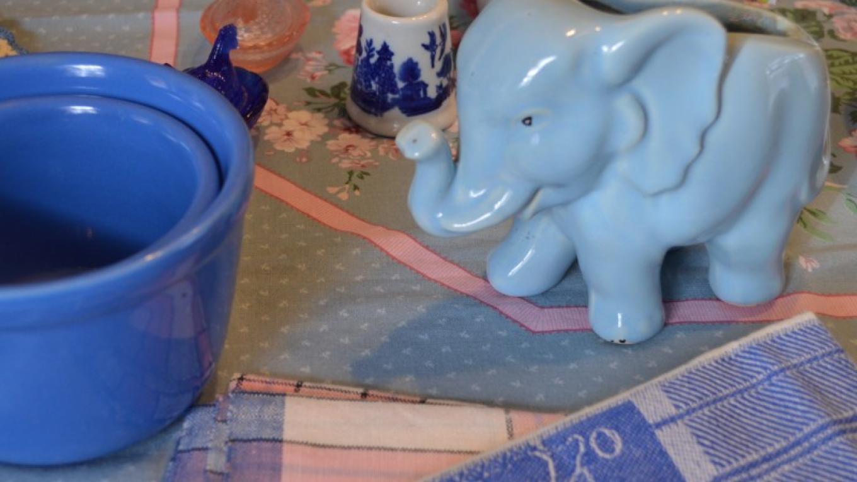 Vintage Elephant Planter – Anne Hart