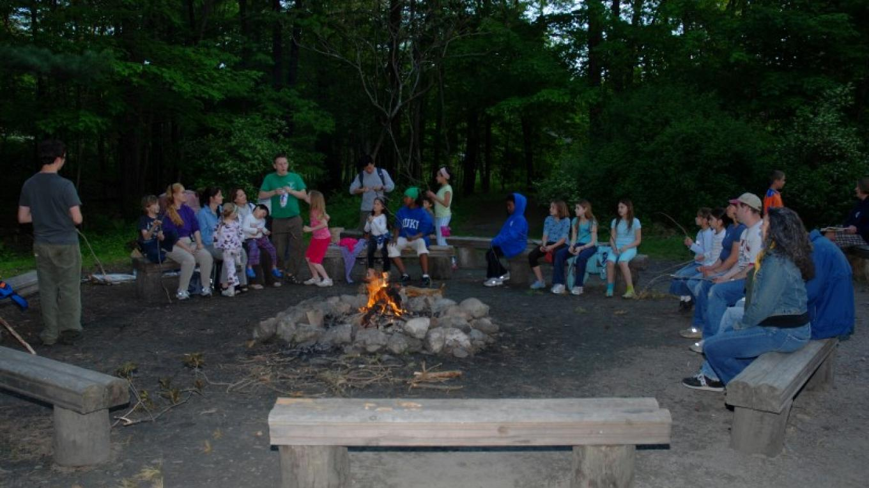 Campfire & S'Mores – PEEC Staff Photo