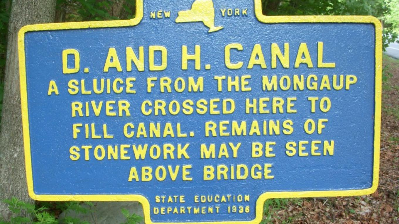 Canal carried coal and goods from Honesdale, PA to Kingston, NY – Norma Schadt