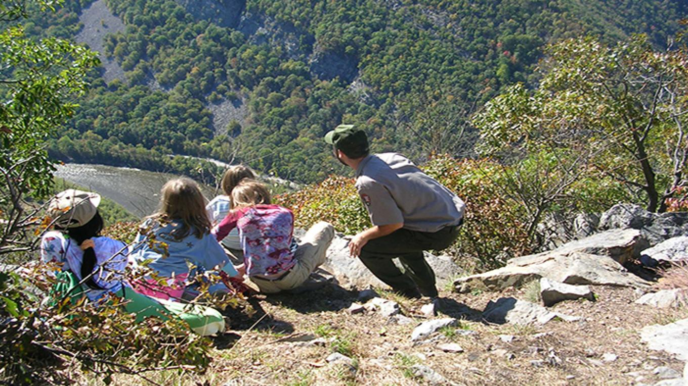 View from Mt. Tammany – National Park Service