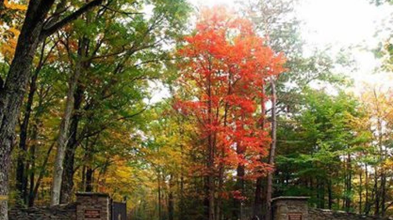 Lacawac's Main Entrance – Lacawac