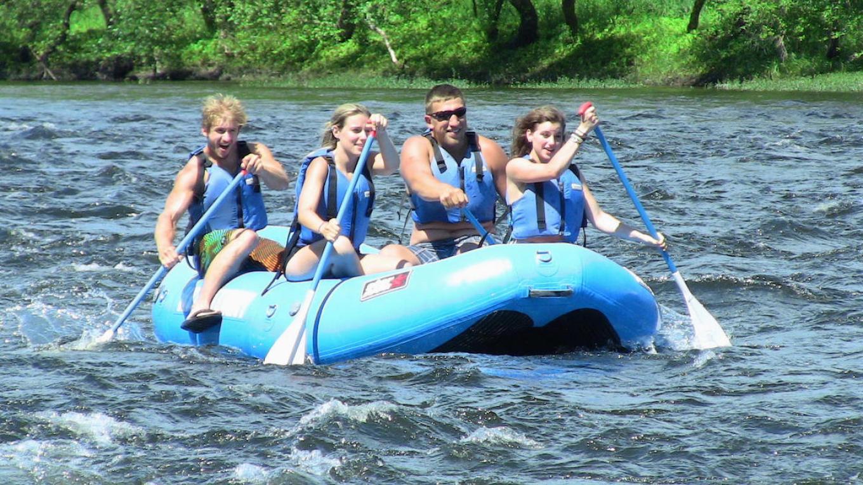 Rafting the Scenic, Wild Delaware River – Charlene Trotter