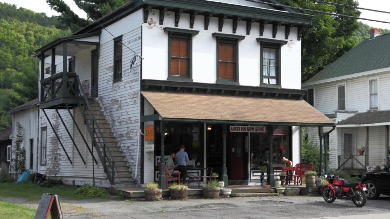 The store & cafe. – Benjamin Halpern