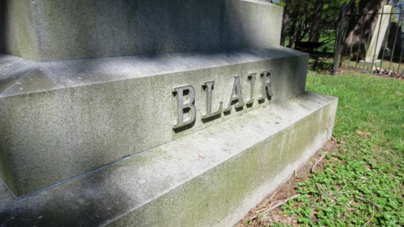 Blair family gravesite at Gravel Hill cemetery – Cynthia Montes