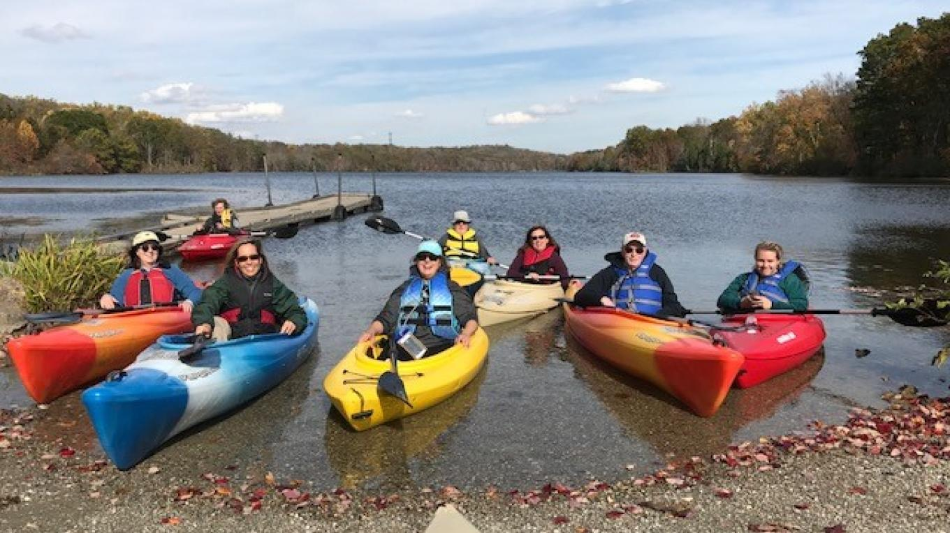 Lake Aeroflex Paddling Excursion led by Lynn Groves