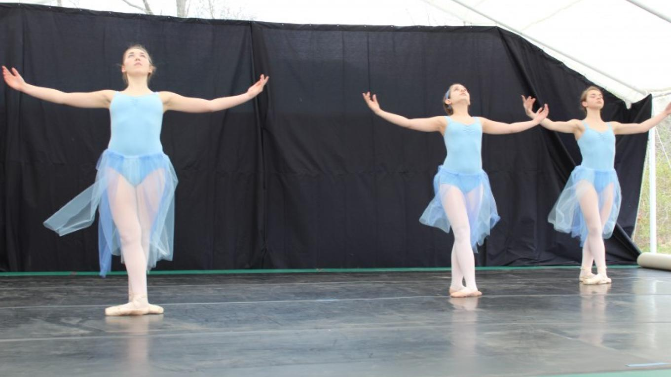 Dancers perform at the annual May Arts Fair. – Photograph by: James Gloria