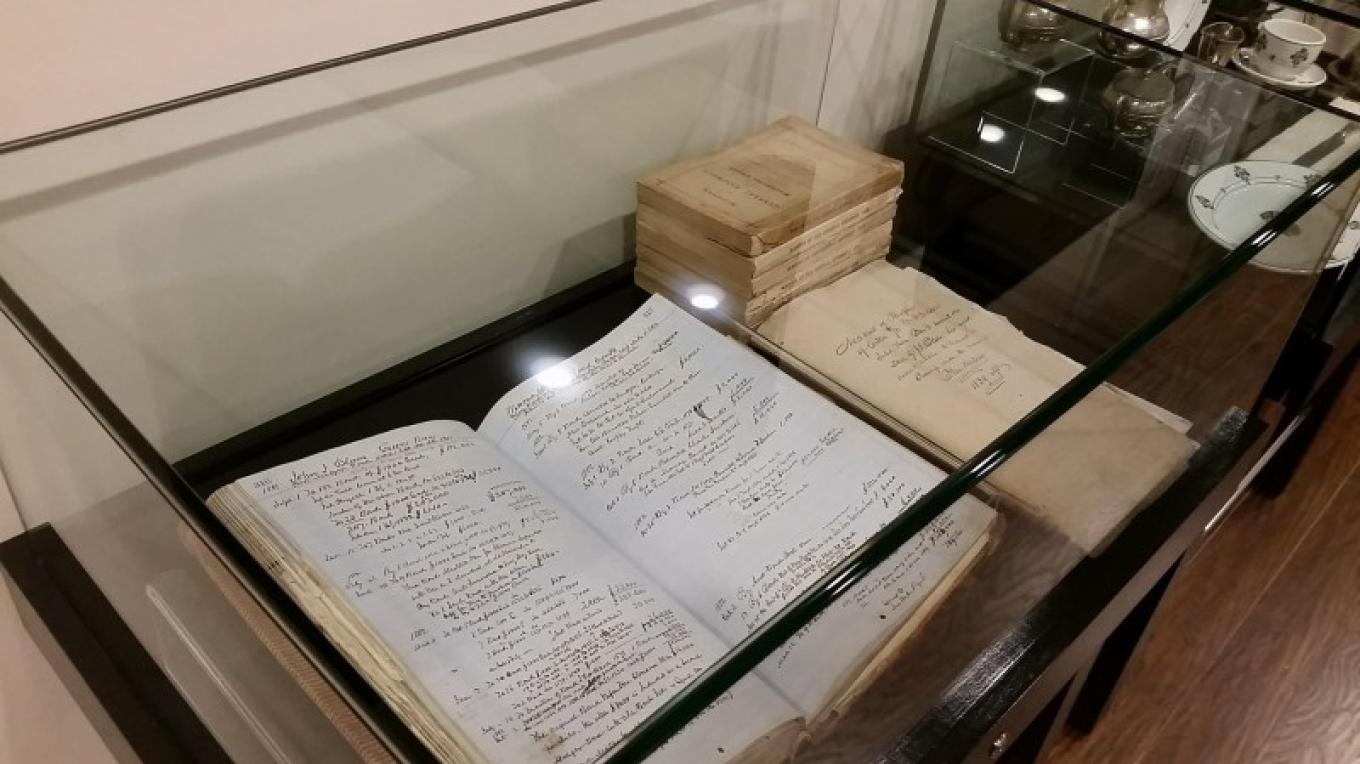 John Insley Blair Financial Records Exhibit