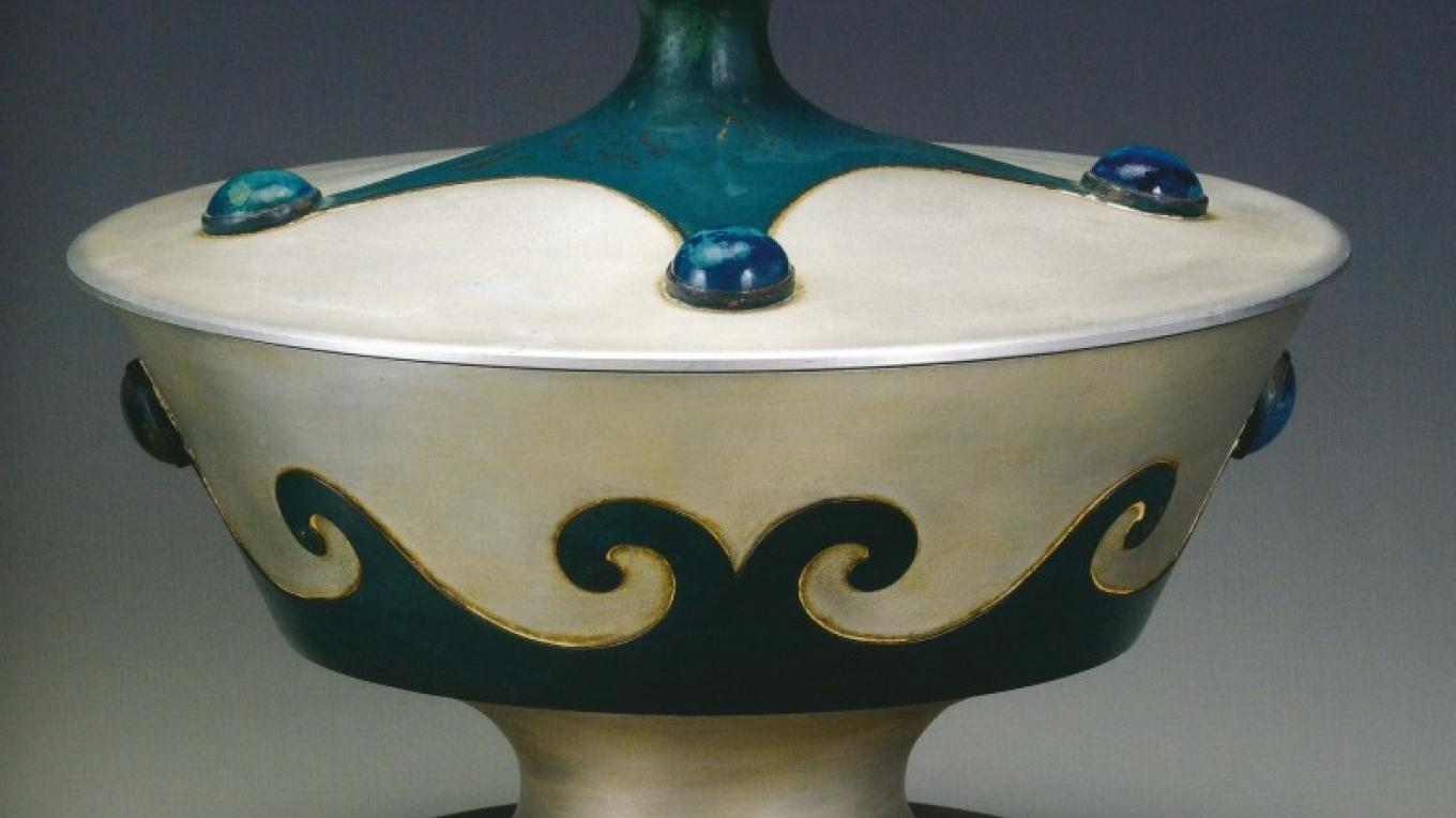 Covered chalice, 1931 – David Cole