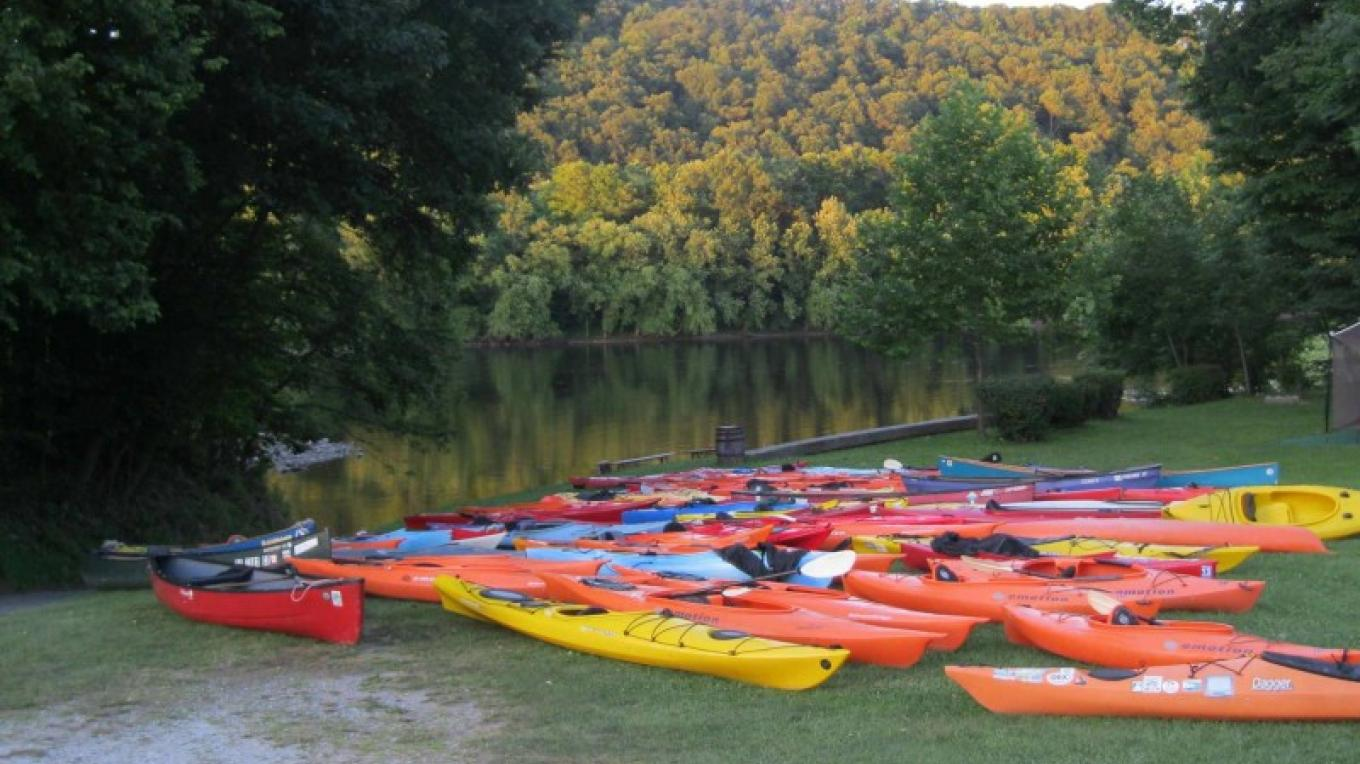 Delaware River Sojourn boats ready for paddling. – Delaware River Sojourn Steering Committee