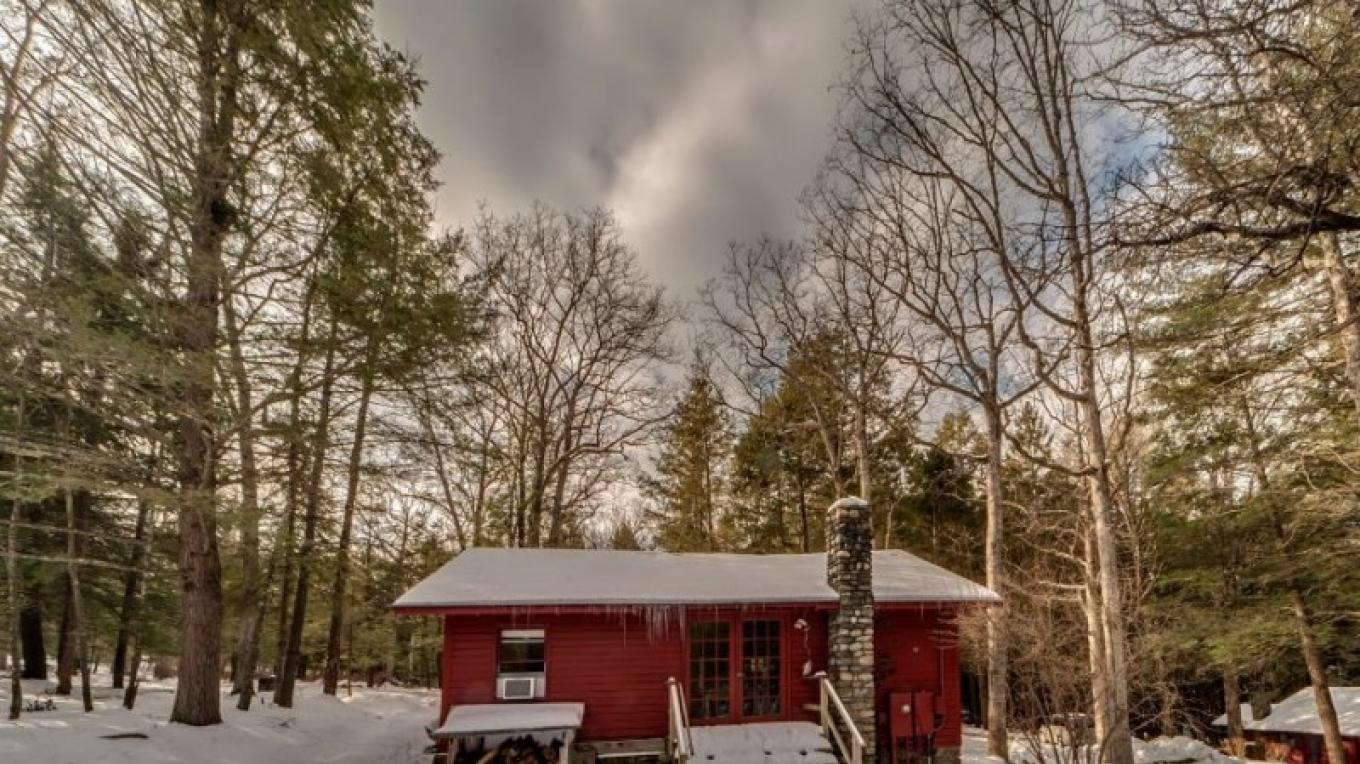 Outside the cottage – Oleg March