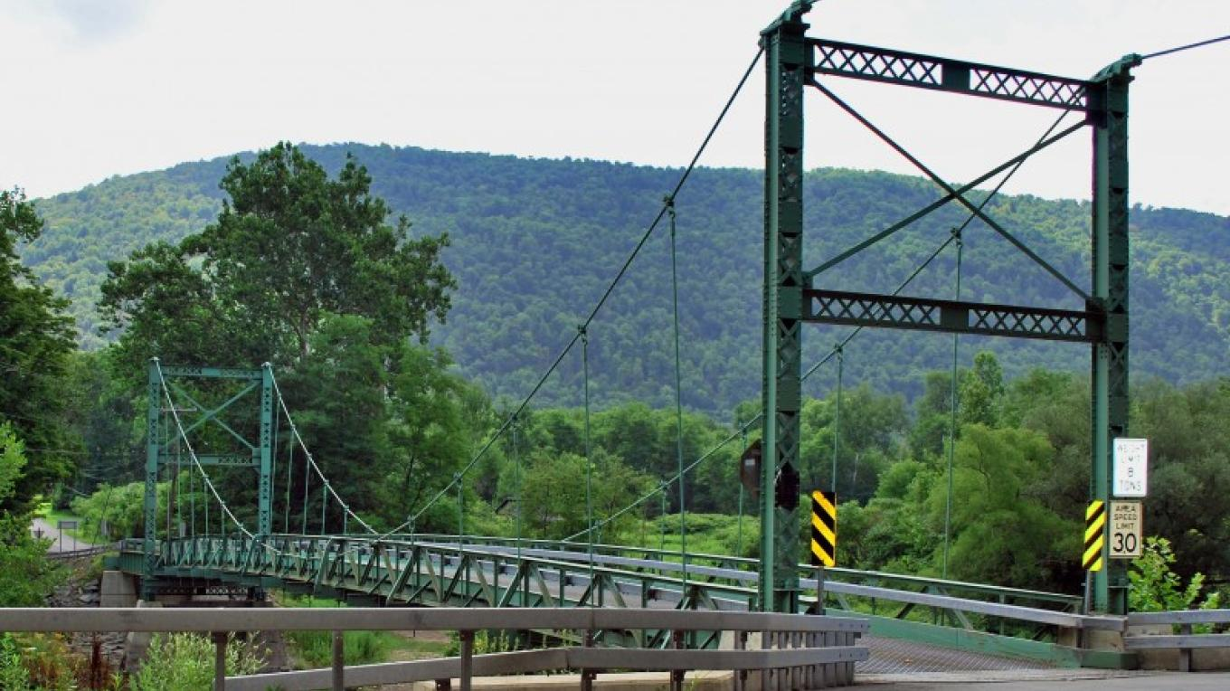 Route 30 entrance coming south from Downsville – Kay Parisi-Hampel