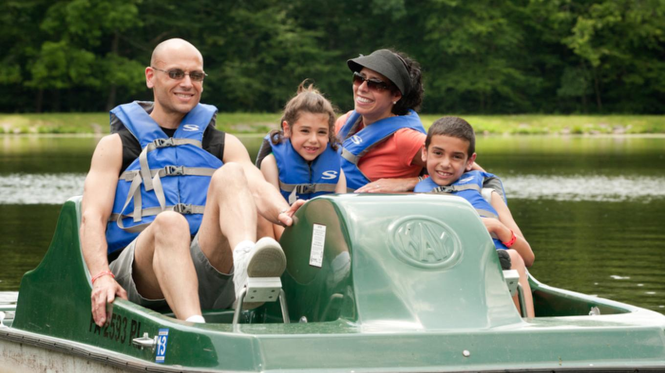 Paddleboat rides are fun for all ages. – David W. Coulter
