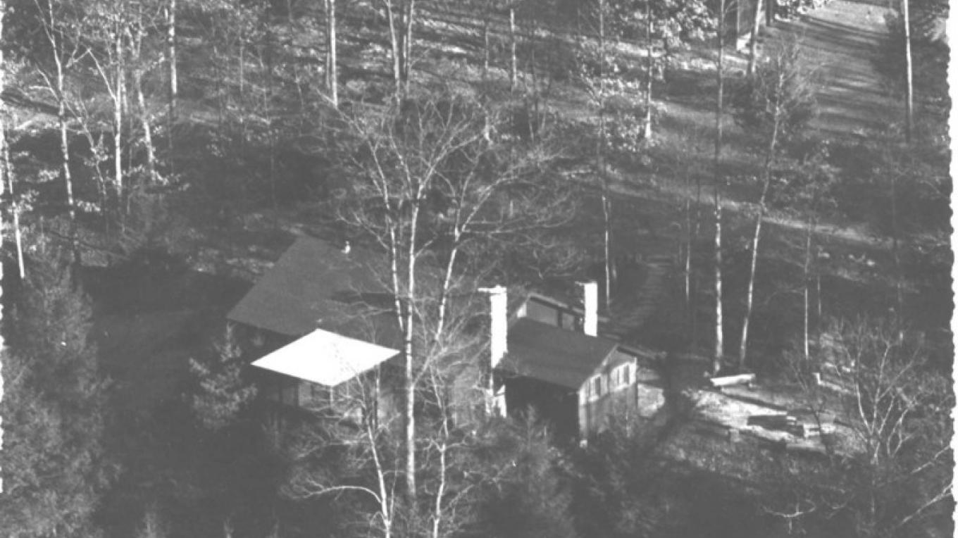 1930s aerial view