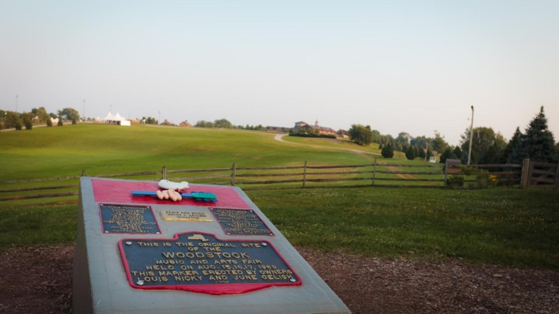 The Woodstock Monument - Bethel Woods Center for the Arts – Bethel Woods Center for the Arts