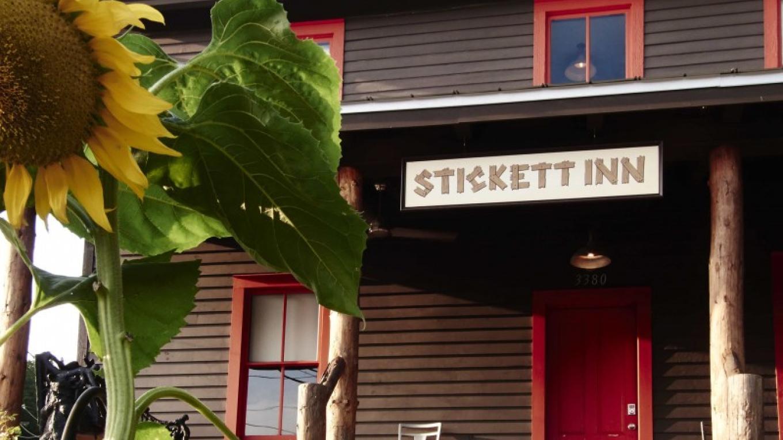 The outside of Stickett Inn--in August. – Kent Pell for Stickett Inn