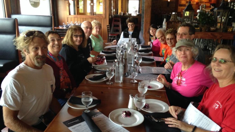 Hike-to-Lunch Tour, September 2015 – Lynn K. Groves