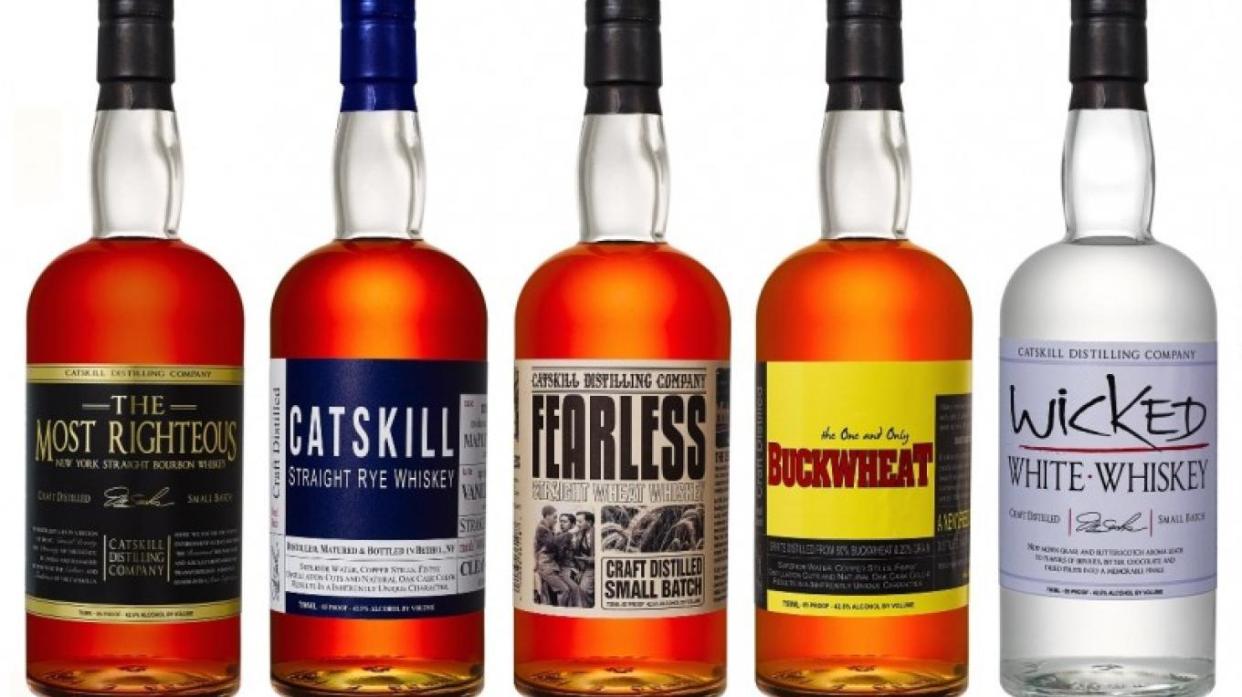 Our Whiskeys - Most Righteous Bourbon, Catskill Straight Rye Whiskey, Fearless Wheat Whiskey, One & Only Buckwheat and Wicked White Whiskey – Jerry Cohen