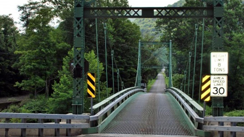 Looking from Route 30 toward Corbett's Chimney Park – Kay Parisi-Hampel