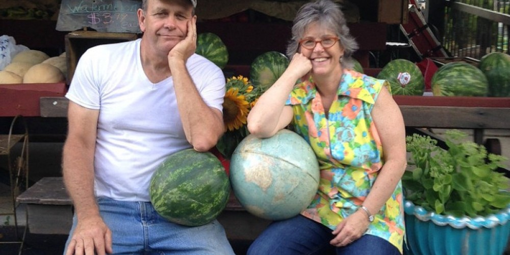 Tom and Jeanie Eberhardt - Proprietors – Eberhardt's Fresh Pickins