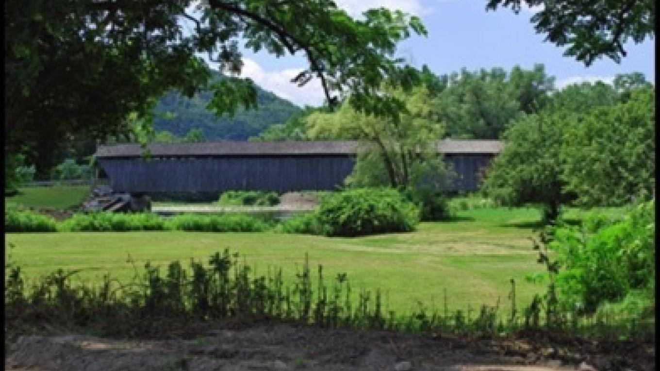 Downsville Covered Bridge – Kay Parisi-Hampel