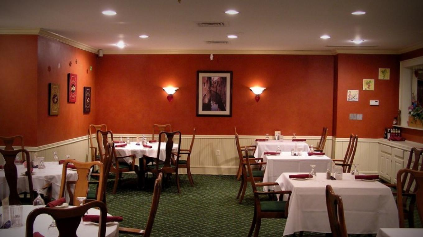 One of our six Dining Rooms – Bruce Brandli