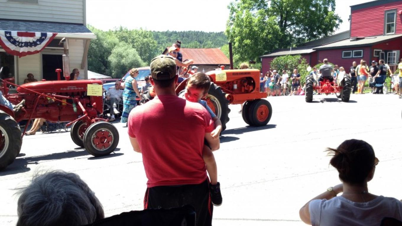Annual Tractor Parade in nearby Callicoon, NY – D. Davies