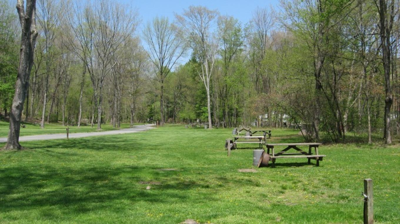 Large flat grassy camping areas are also available for families and large groups/organizations. – Kittatinny Canoes, Inc