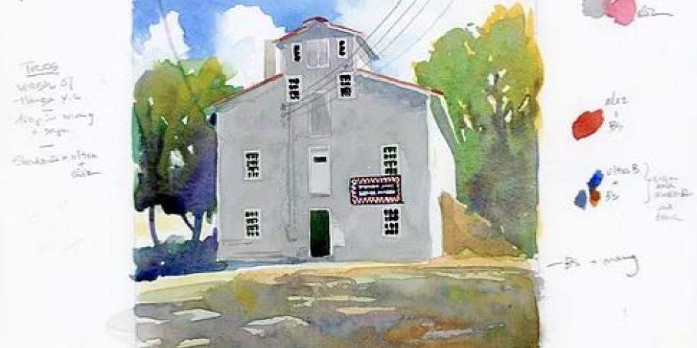Watercolor by Doris Ettlinger