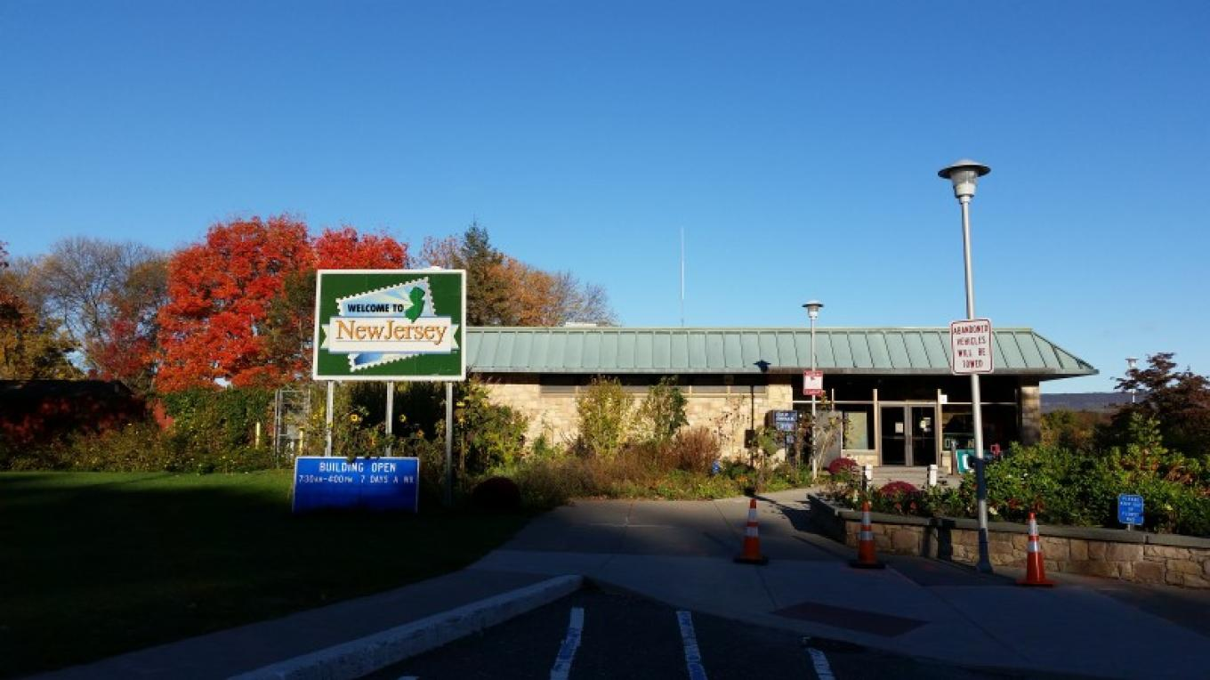 Restroom facilities and tourist information are available in the Knowlton Tourist Welcome Center. – Jessy Taylor