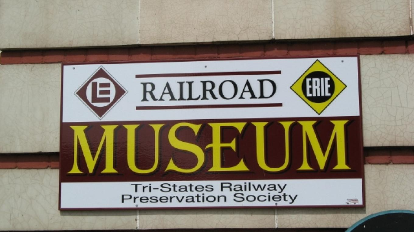 Sign at the Community Center location – Minisink Valley Historical Society