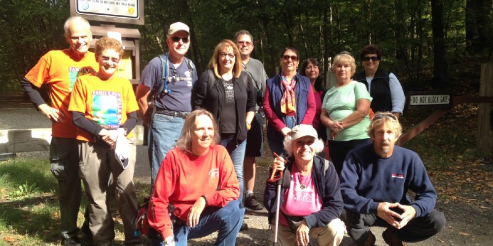Hike-to-Lunch Tour, September 2015 – Lynn K. Groves