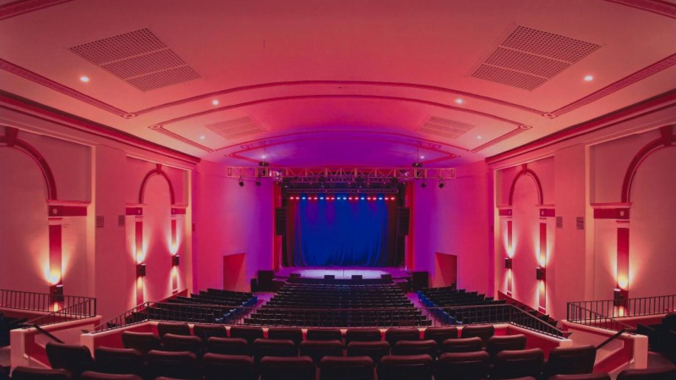 The historic Newton Theatre, beautifully restored in 2011. – Keith Utter