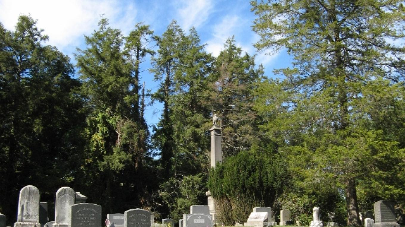 The impressive monuments and mausoleums are a testament to the many prominent citizens who made it their final resting place. – Minisink Valley Historical Society