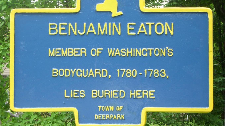 George Washington's body guard sleeps here – Norma Schadt