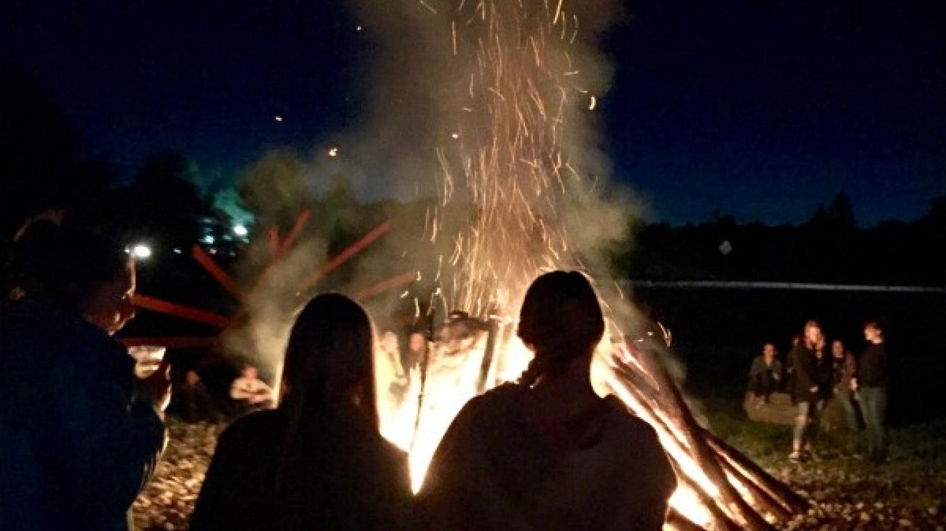 Bon Fire on the Field! A Family Favorite recurring event at the Distillery – Stacy Cohen