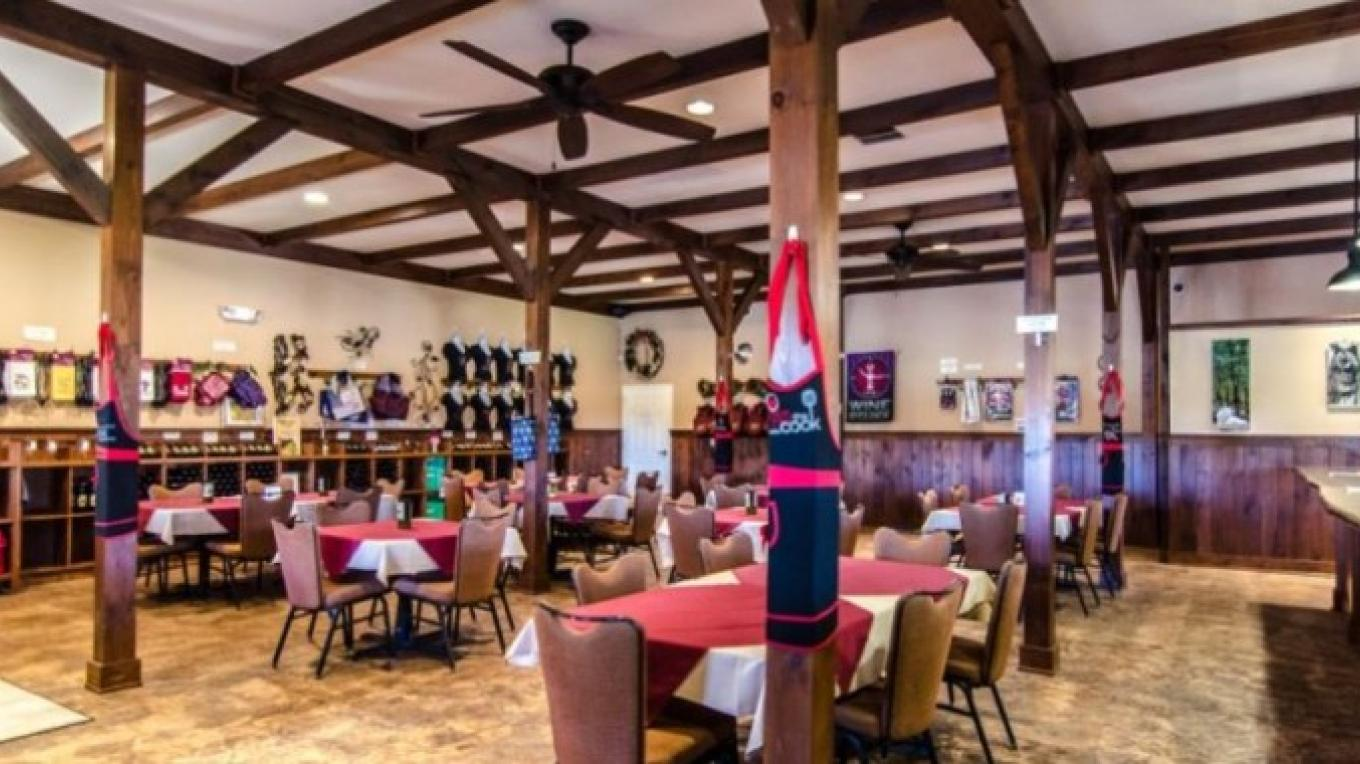 Inside our tasting room. The perfect place for a private party!