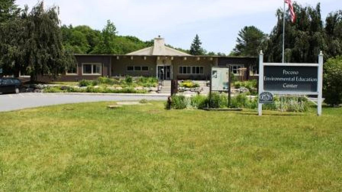 Pocono Environmental Education Center's Main Entrance – PEEC Staff Photo