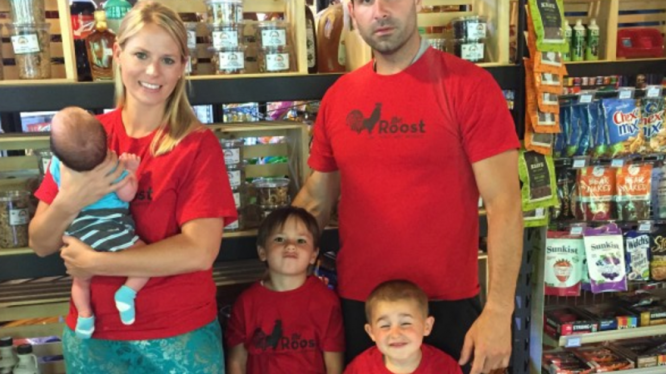 Deli Owners Anthony & Vanessa Palma and Family – Photography Courtesy of the Roost Deli & Market