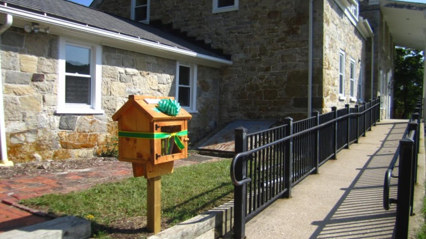 Kittatinny Valley State Park Little Free Library – Lynn K. Groves