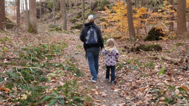Autumn hike with Grandma on the Sinkhole Trail – JoAnne Beliveau