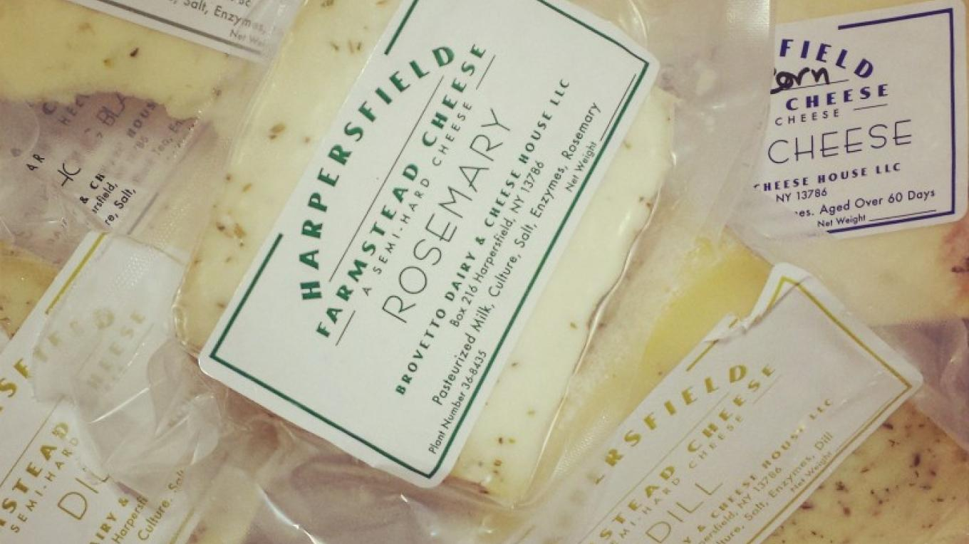 Local cheese. – Amber Gray