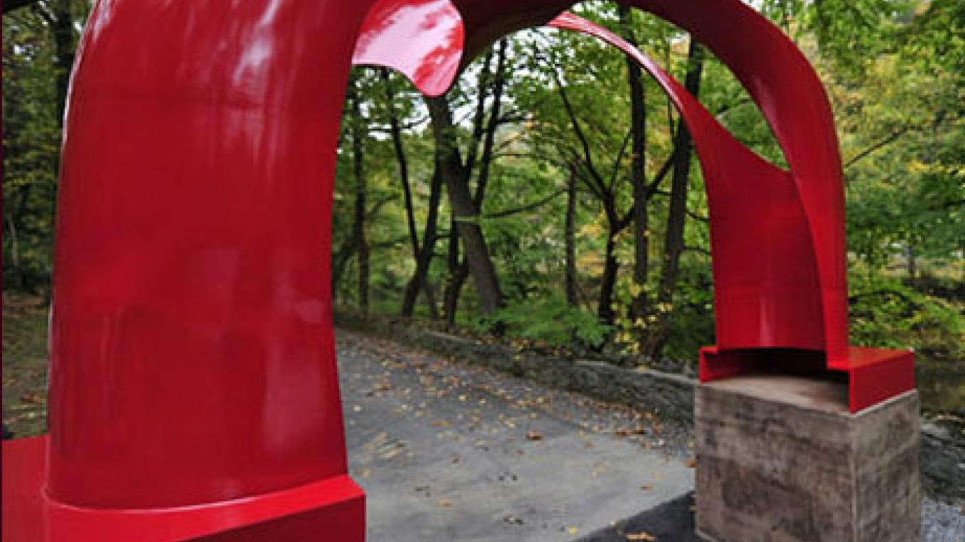 Karl Stiner Arch – Photograph by: City of Easton