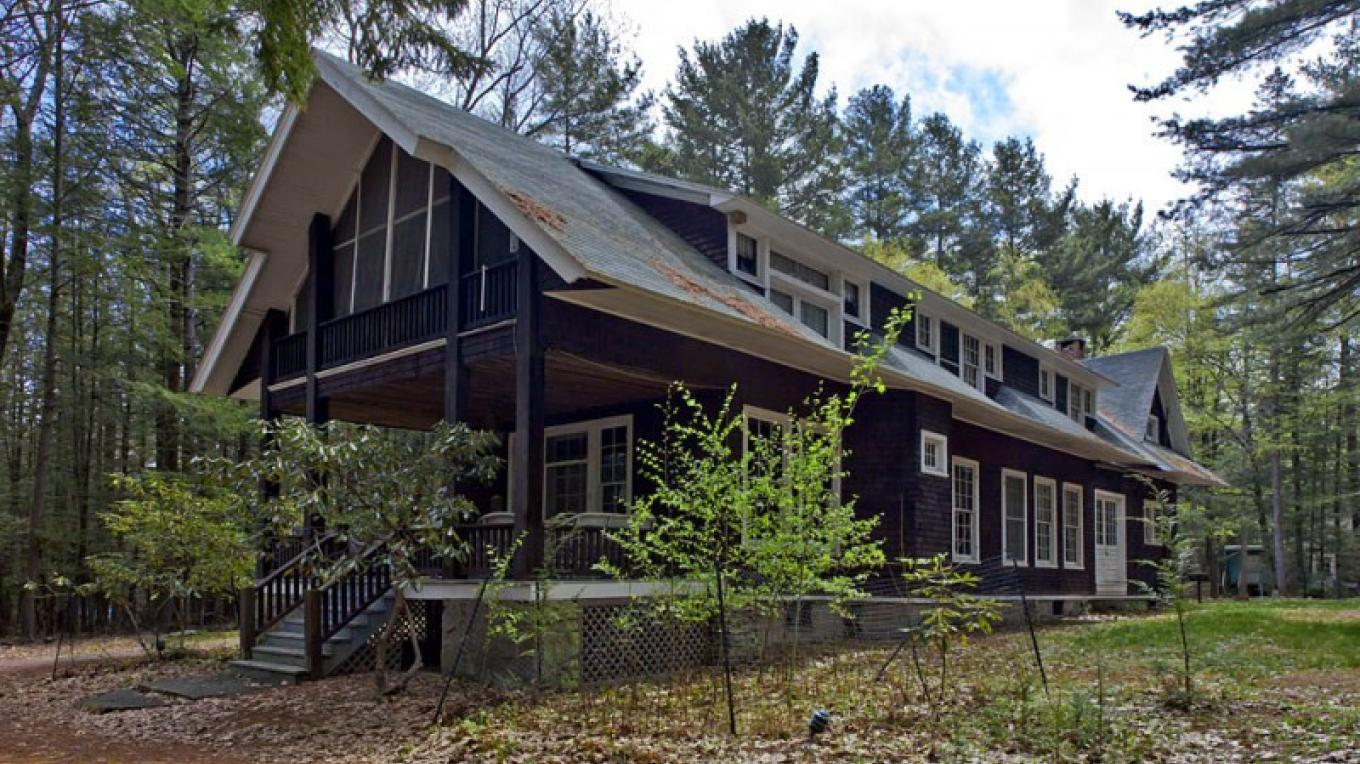 The lodge at Lacawac – Michael Gadomski