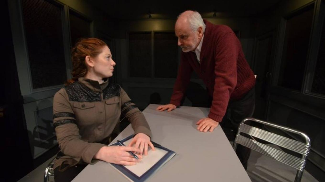 The stakes are high in this production photo from CSC's 2015 Equity play, The Nether by Jennifer Haley. – Bob Eberle